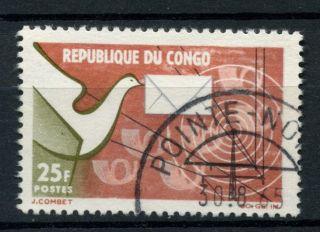 Congo Brazzaville 1965 Sg 59 Posts & Telecommunications A39139 photo