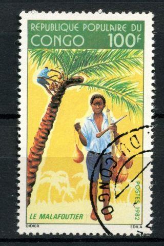 Congo Brazzaville 1982 Sg 885 La Malafoutier A39150 photo