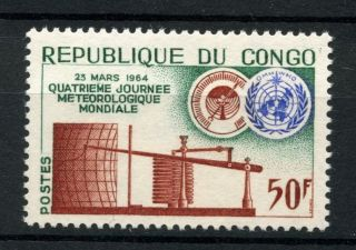 Congo Brazzaville 1964 Sg 42 Meteorological Day A39086 photo