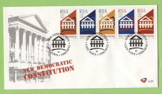 South Africa 1996 Democratic Constitution First Day Cover photo