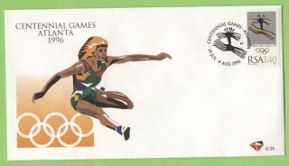 South Africa 1996 Olympic Games,  Atlanta 1.  40 First Day Cover photo