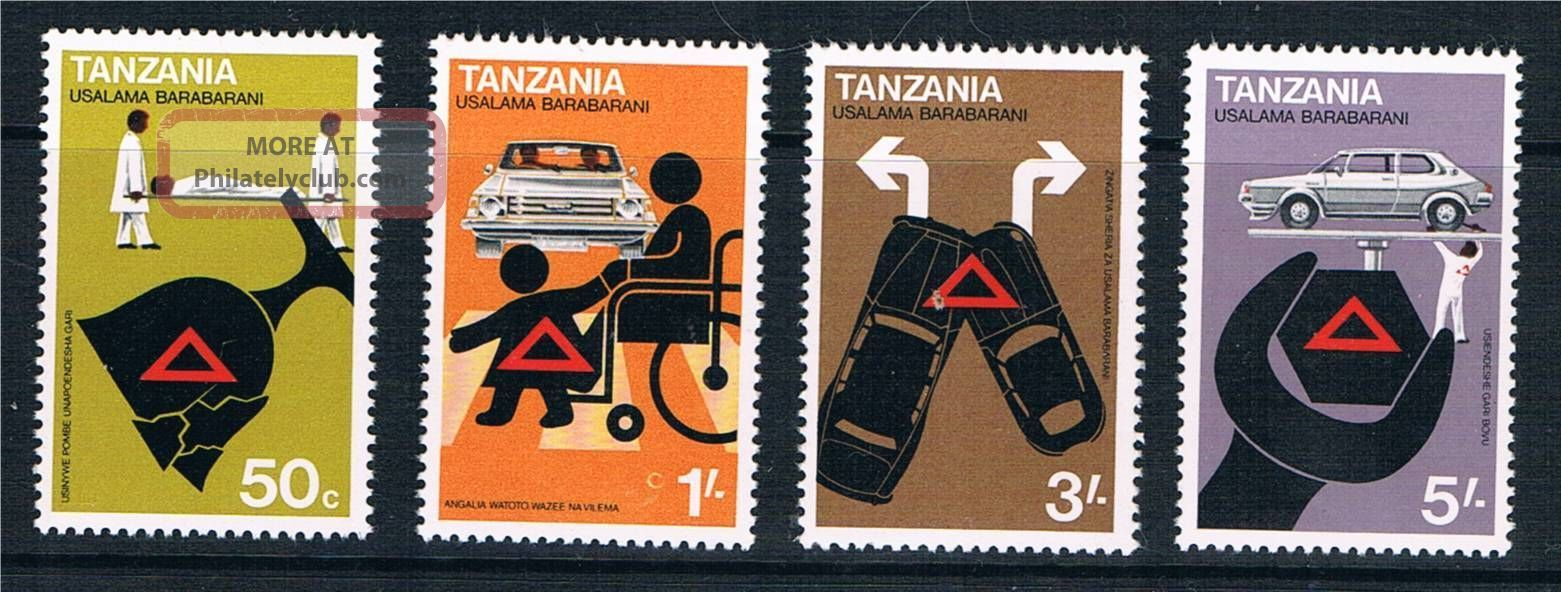 Tanzania 1978 Road Safety Sg 238/41 Africa photo