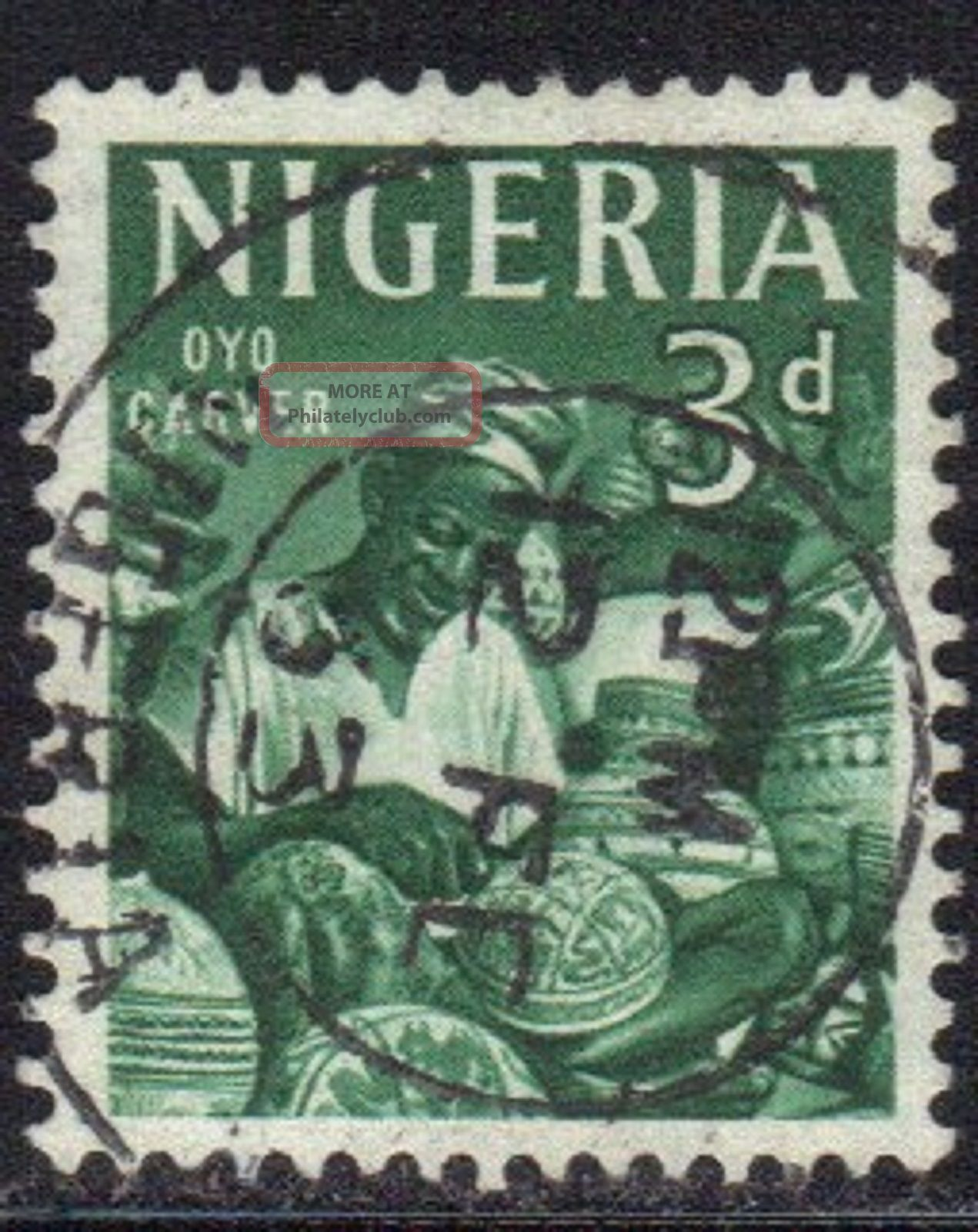 Nigeria Stamp Scott 105 Stamp See Photo Africa photo