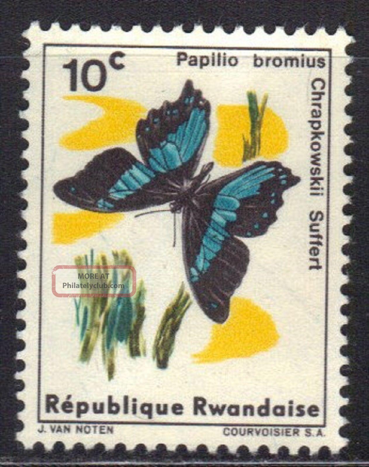 Rwanda Stamp Scott 114 Stamp See Photo Africa photo