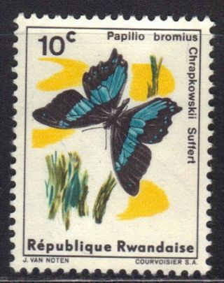 Rwanda Stamp Scott 114 Stamp See Photo photo