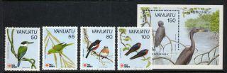 Vanuatu 542 - 6 Birds photo