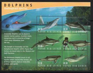 Papua Guinea Sgms1000 2003 Dolphins photo