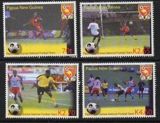 Papua Guinea Sg1038/41 2004 Centenary Of Fifa photo