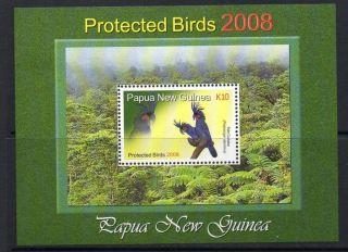 Papua Guinea Sgms1226 2008 Protected Birds photo