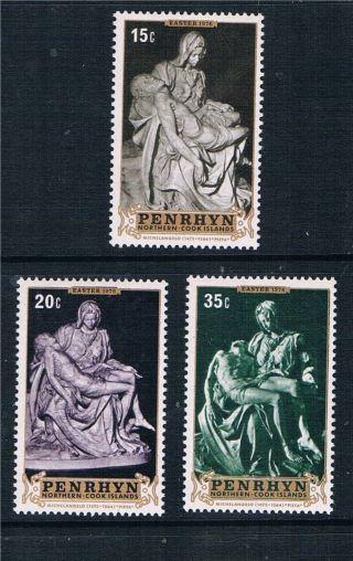 Penrhyn 1976 Michelangelo Sg 82/4 photo