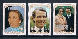 Penrhyn 1973 Royal Wedding Sg 53/5 photo