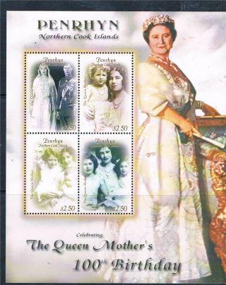 Penrhyn 2000 Q,  Mother 100th Birthday Sg 531 - 4 photo
