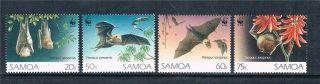 Samoa 1993 Flying Foxes Sg 89 - 901 photo