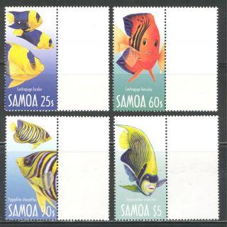 Sea Life Reef Fish On Samoa 2003 Sc 1045 - 1048 photo