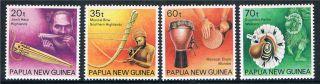 Papua Guinea 1990 Musical Instruments Sg 628/31 photo