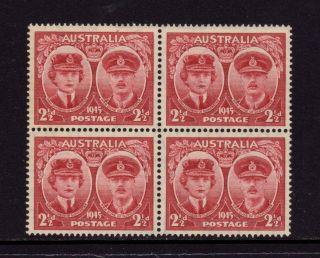 Australia 1945,  Sc 197,  Sg 209,  Hrh Gloucester,  2 1/2d Brown Red,  Muh photo