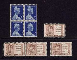 Australia 1961,  Sc 341,  342,  Sg 340,  341,  Dame Melba,  Christmas,  Muh photo