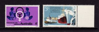 Australia 1967 - 1969,  Sg 413 438 Obstetrics & Gynecology,  Ports & Harbor,  Mh photo