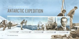 Australian Antarctic Territory Issue 2014 Expedition Min Sheet photo