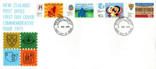 Zealand 5 February 1975 Anniversaries & Events First Day Cover Wellington photo