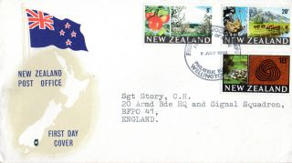 Zealand 8 July 1969 Industries First Day Cover Shs photo