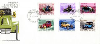 Zealand 2 February 1972 Car Rally Unaddressed First Day Cover Shs photo