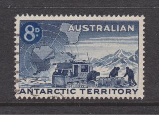 Australia L2 Loading Snow Truck,  Vf Stamp photo
