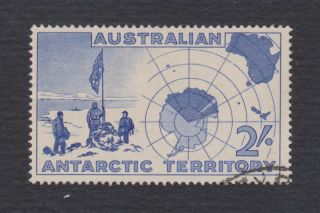 Australia L4 Explorers & Map,  Vf Stamp photo