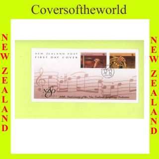 Zealand 1996 Symphony Ochestra First Day Cover photo