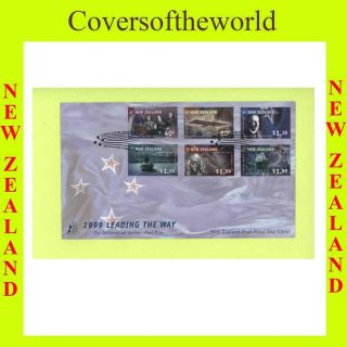 Zealand 1999 Achievements,  Millenium Fdc photo