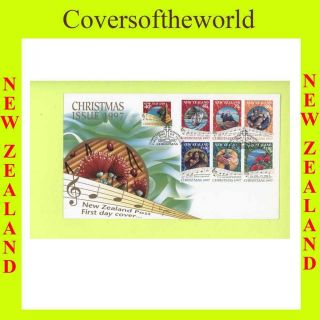 Zealand 1997 Christmas First Day Cover photo