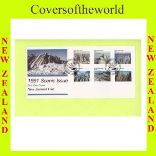 Zealand 1991 Scenic Issue First Day Cover photo