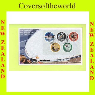 Zealand 1996 Olympics M/s First Day Cover photo