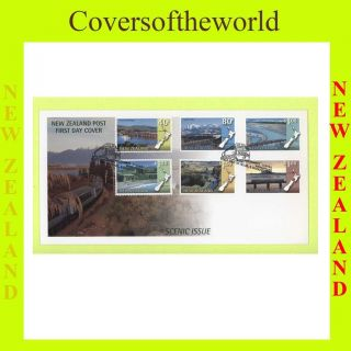 Zealand 1997 Scenic Views First Day Cover photo