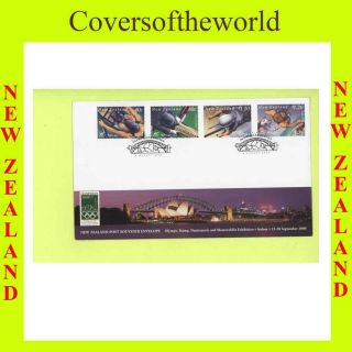 Zealand 2000 Olympics & Sports First Day Cover photo