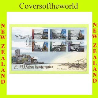 Zealand 1999 Urban Transformation First Day Cover photo