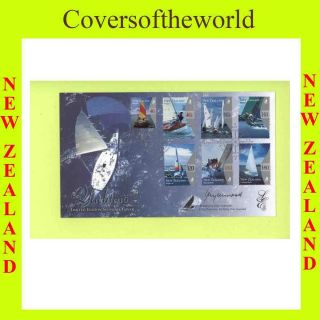 Zealand 1999 Signed Yachting Race First Day Cover photo