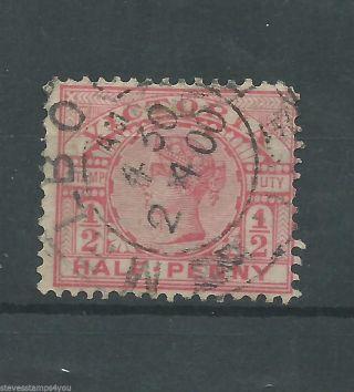 Victoria - 1897 - Sg330a - Wmk 82 - Cv £ 2.  00 - photo