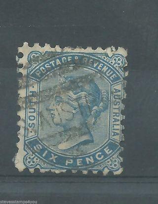 South Australia - 1887 - Sg185a - P10.  00 X P10.  00 - Cv £ 1.  00 - photo