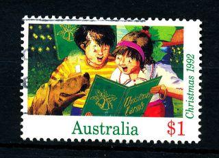 B495 Australia 1992 Sg1385 $1 Christmas photo
