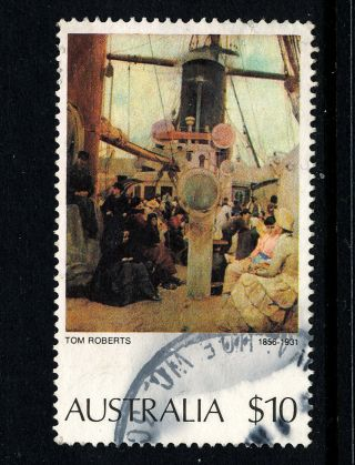 B862 Australia 1974 Sg567a $10 ' Comming South ' photo