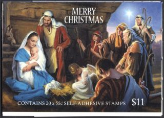 Australia Scott 4014a Complete Booklet - Christmas (2013) photo
