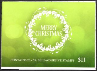 Australia Scott 4016a Complete Booklet - Christmas (2013) photo