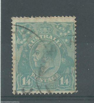 Australia - 1927 - Sg93 - Wmk 7 - Cv £ 80.  00 - photo