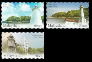 Lighthouses In Malaysia Series 2 2013 Building Marine (stamp) photo