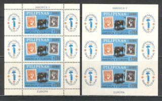 Stamp On Stamp Bull Fightihg Philippines 1977 Sc C110 + photo