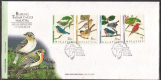 Highland Birds Of Malaysia 1997 Hummingbird Sambar Jungle Sepah Fdc Cover photo