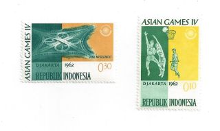 Indonesia Asian Games Iv 1962 photo