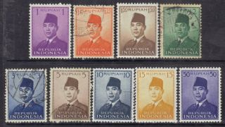 Indonesia 1951 President Sukarno. photo