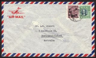 China 1940 ' S Cover From Peiping To Australia photo